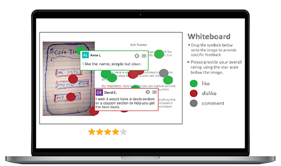 Screenshot: Whiteboard/Image Markup