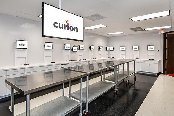 Curion Facility Testing Room