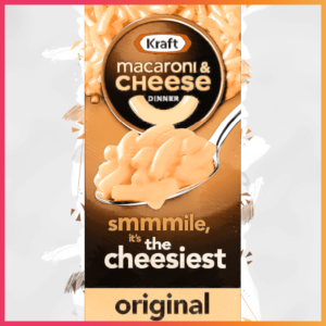 10 iconic brands that evolved their recipes kraft macaroni n' cheese illustration
