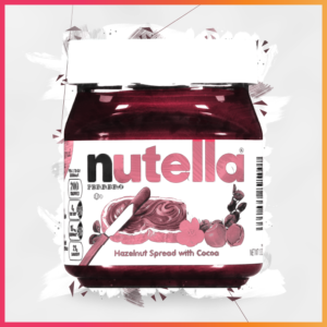 iconic brands that evolved their recipes nutella illustration