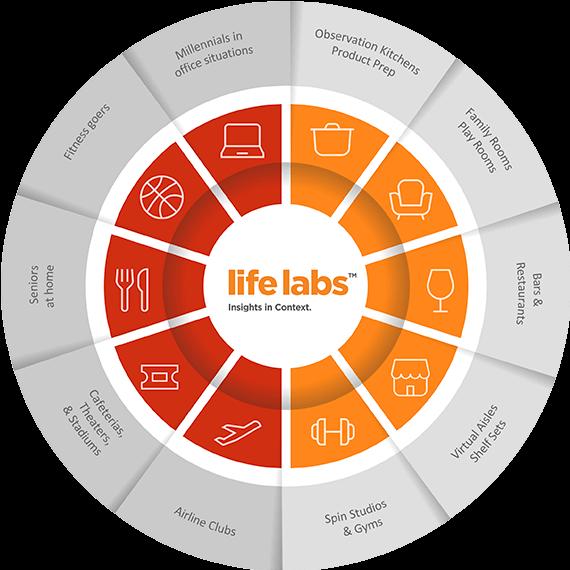 LifeLabs™ Product Usage Chart