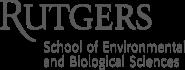 Rutgers School of Environmental and Biological Sciences Logo